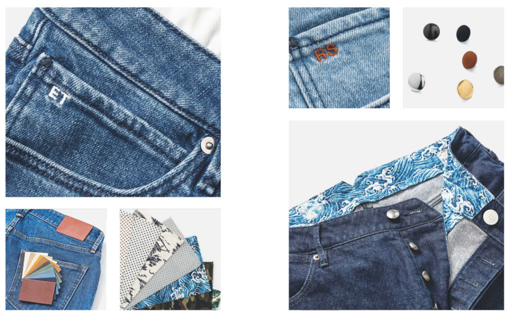 finitions jeans keitel