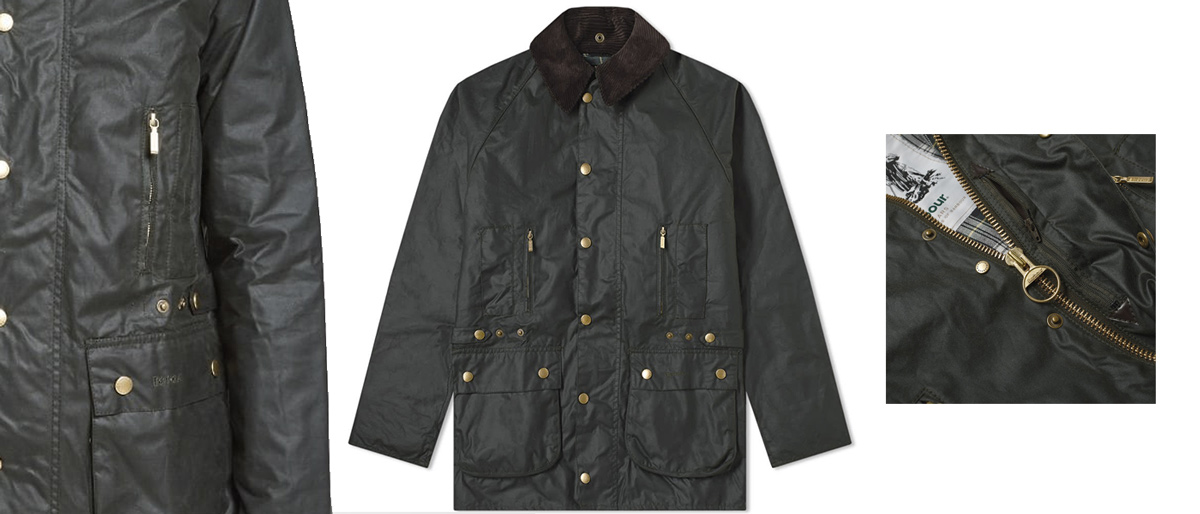barbour veste beaufort 125