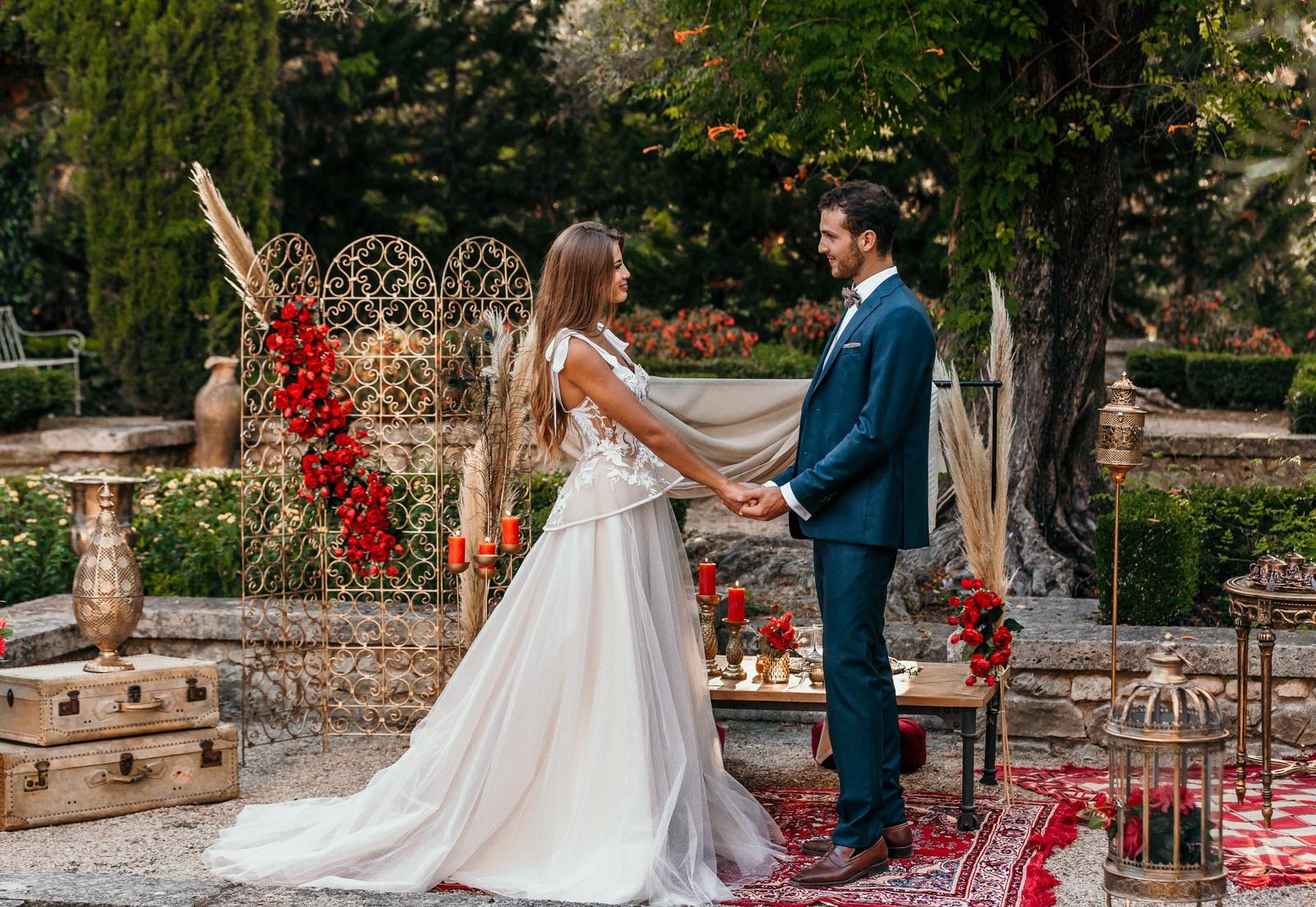 photos de mariage editorial