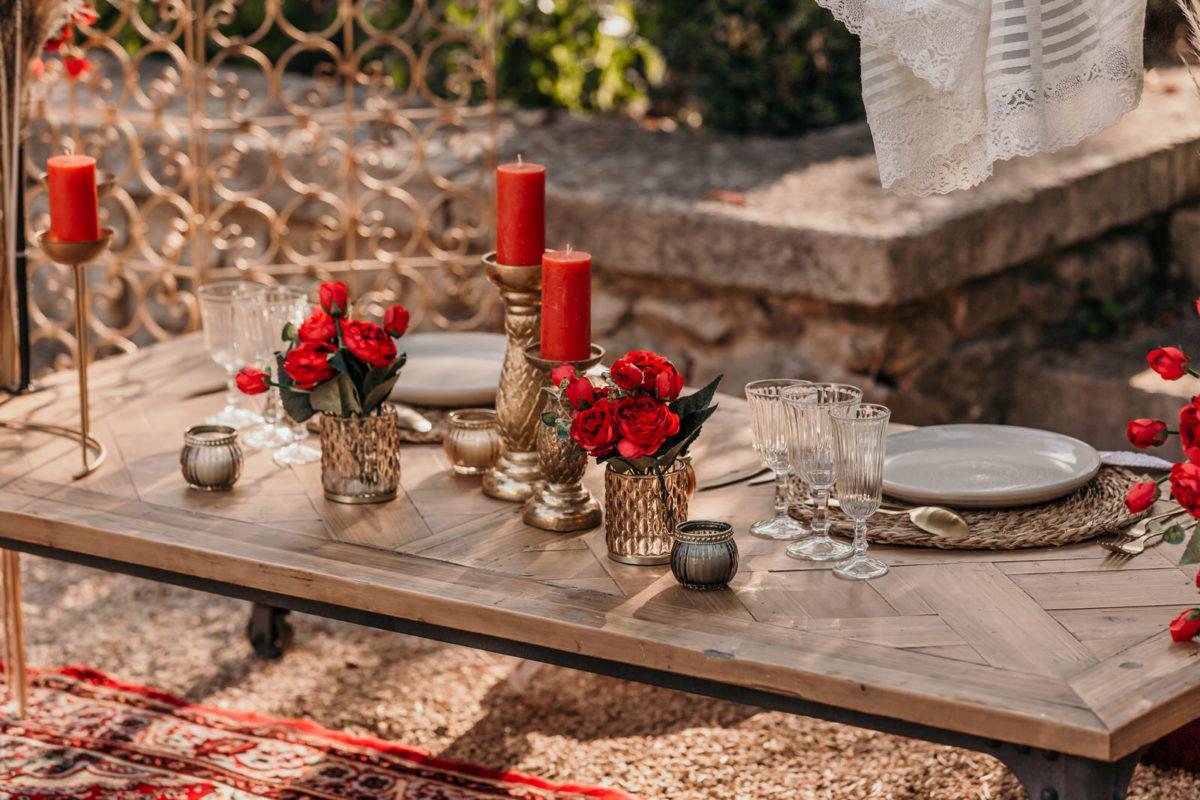 inspiration mariage theme oriental