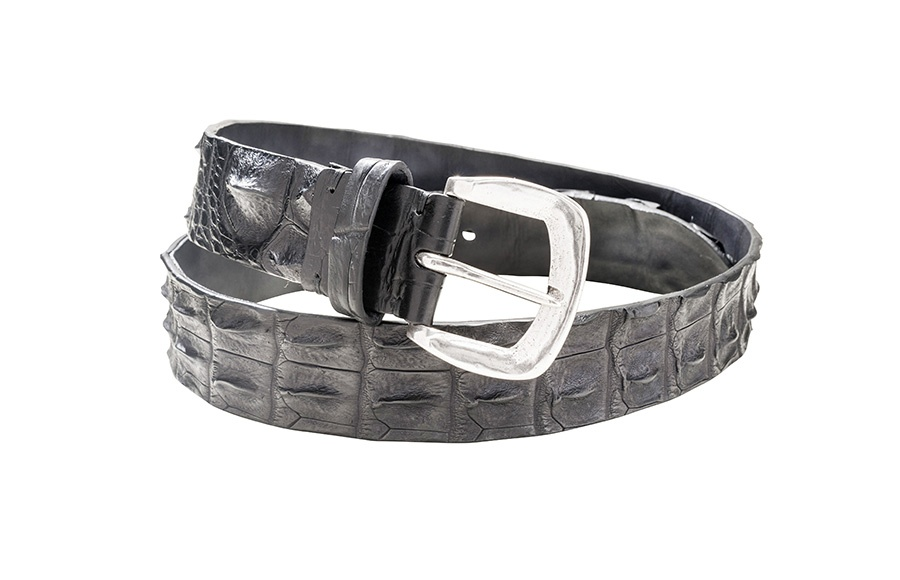 ceinture cuir exotique keitel