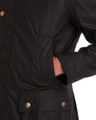 BARBOUR ASHBY® WAX JACKET OLIVE (4)