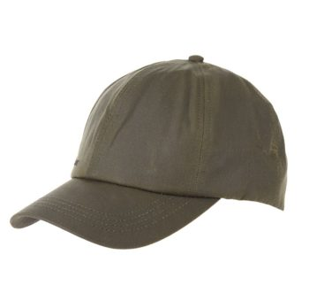 BARBOUR CASQUETTE WAX OLIVE