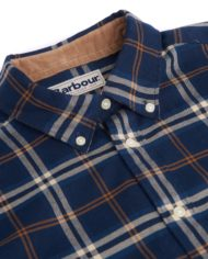 BARBOUR COUNTRY CHECK REGULAR BLUE