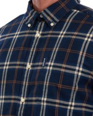 BARBOUR COUNTRY CHECK REGULAR BLUE (2)