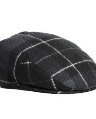 BARBOUR MOONS TWEED CAP GRIS