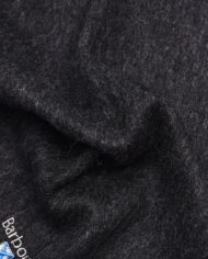 BARBOUR PLAIN LAMBSWOOL SCARF CHARCOAL grey