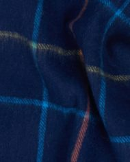 BARBOUR TATTERSALL LAMBSWOOL SCARF(1)