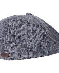BARBOUR TINSLEY BAKERBOY HAT GRIS(1)