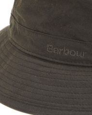 BARBOUR WAX SPORTS HAT OLIVE ()