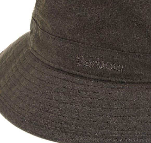 chapeau olive barbour