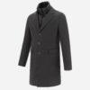 Manteau en laine Anthracite - Herno