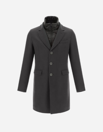 Manteau en laine Anthracite - Herno