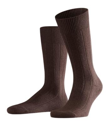chaussettes marron falke