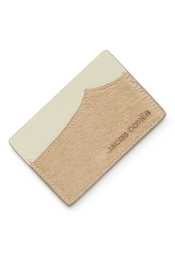 JACOB COHEN CREDIT CARD HOLDER BEIGE (1)