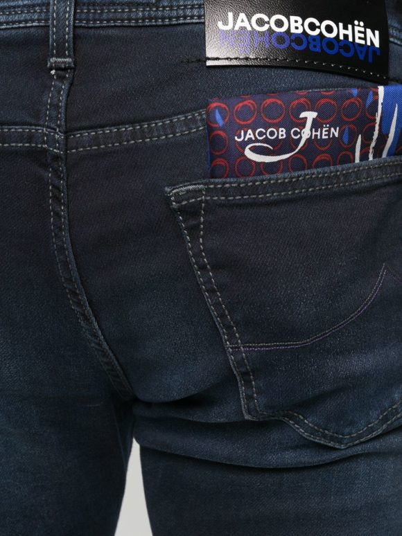 Jeans J622 slim Bleu foncé - Jacob Cohen