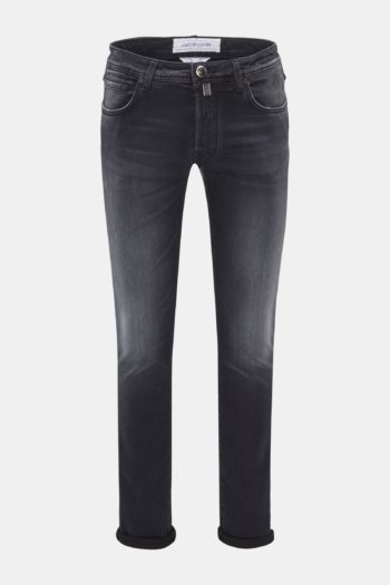 JACOB COHEN - J688 COMFORT SLIM FIT ANTHRACITE