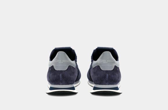 baskets bleu philippe model