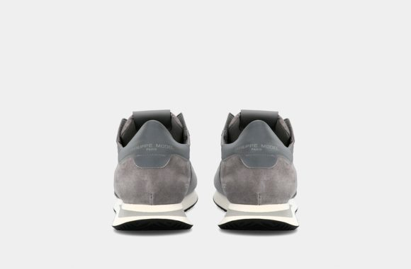 baskets grises homme philippe model