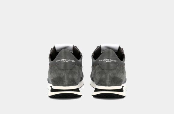 baskets philippe model charbon gris