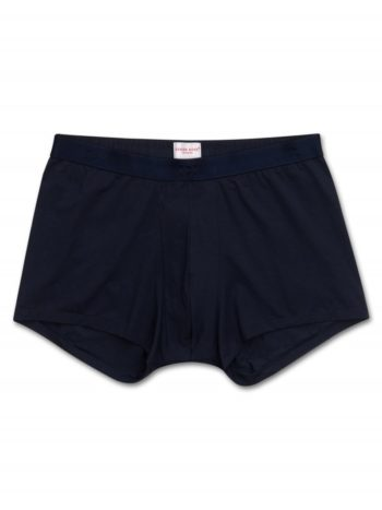 DEREK ROSE BOXER COTON PIMA STRETCH NAVY