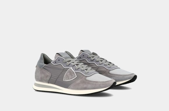 philippe model por keitel sneakers grises