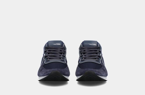 sneakers bleues philippe model keitel gomme