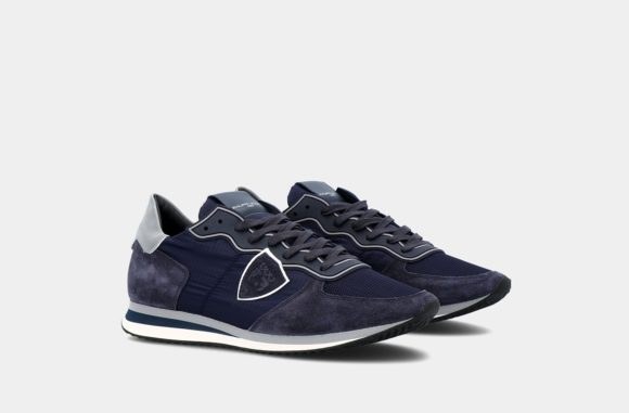sneakers gomme bleu philippe model