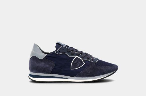 sneakers gomme bleu trpx