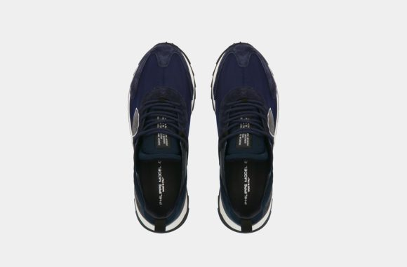 sneakers philippe model bleu-2