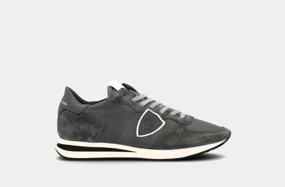 sneakers veau charbon
