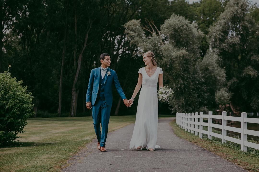 Costume de mariage trois pieces bleu keitel 7